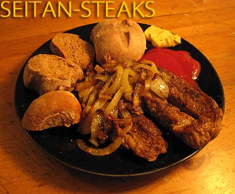 Seitan-Steaks