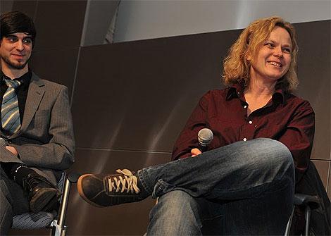 Tim Serowski und Katrin Duwe, Foto: VEBU