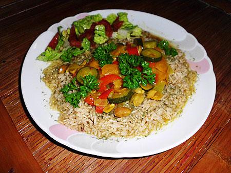 Zucchini-Curry