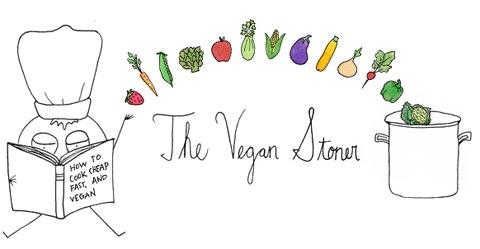 Vegan Stoner - Logo