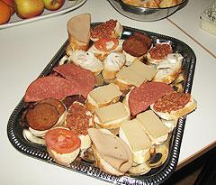 veganes Buffet - Detail