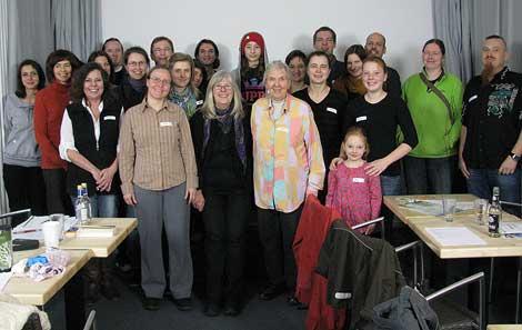 Schnupperwochen: Gruppenbild der Teilnehmer