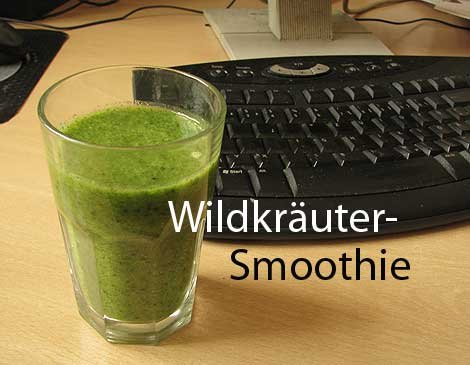 Wildkräuter-Smoothie