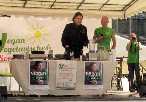 Kochshow mit Bjoern Moschinski