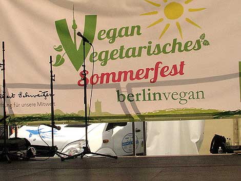 vegan-vegetarisches Sommerfest 2012