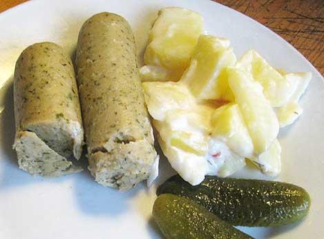 Weißwurst vegan: Wheatys Weiße