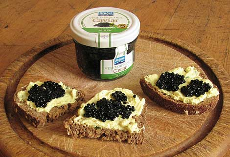 veganer Kaviar