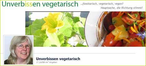 Unverbissen vegetarisch auf Facebook
