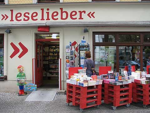 Die Buchhandlung Leselieber