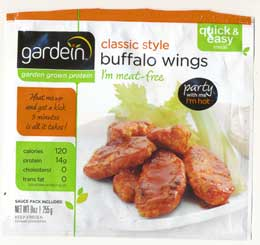 Buffalo Wings, vegan
