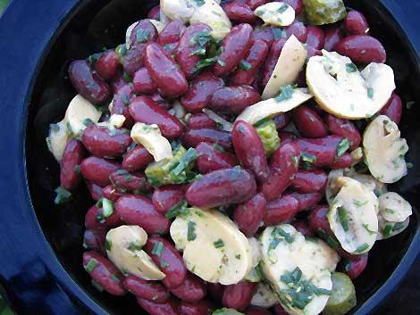 Kidneybohnen-Salat