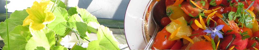 südländische früchte im garten
