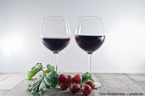 2 Weingläser