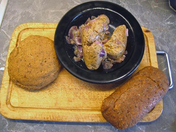 dreimal seitan selbst gemacht ged mpft gekocht gebacken unverbissen vegetarisch. Black Bedroom Furniture Sets. Home Design Ideas