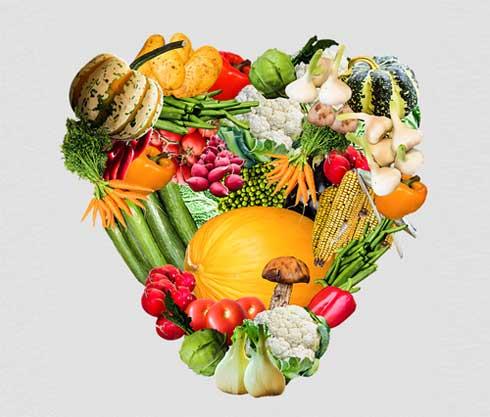 Illu: Gemüseherz