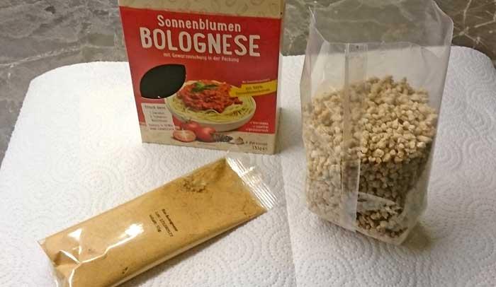 Sonnenblumen-Bolognese